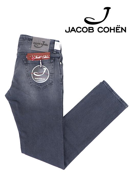 ブラックジーンズ/ストレッチデニム/J688 COMFORT【JACOB COHEN/ヤコブコーエン】ja6054606-ブラック
