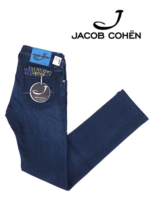 5ポケットパンツ/デニムライクジャージー/J622 COMFORT【JACOB COHEN/ヤコブコーエン】ja6159577-インクブルー