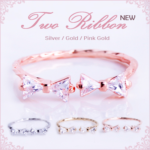 roryxtyle cute cute ring ring ladies ring ribbon to ribbon design 4