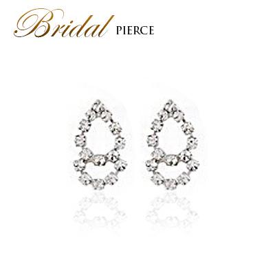 Swarovski Pierced Earrings Wedding Accessories Invite Party