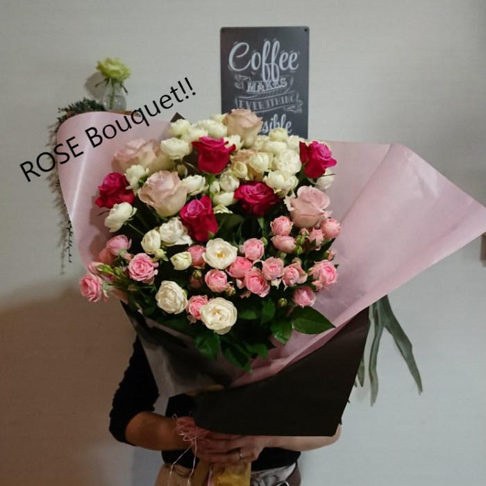 産地直送 送料無料でボリューム感たっぷりのバラの花束をおとどけします 当園所属のフラワーデザイナーが一つ一つ心を込めて製作いたします プレゼントにぴったり バラの花束 プロポーズ 記念日 誕生日 出産祝い 結婚祝い プレゼント ピンクのバラ インテリア お祝い ラッピング付き 引出物 5000円 結婚記念日 女性プレゼント 送料無料 父の日 発表会 ディスカウント
