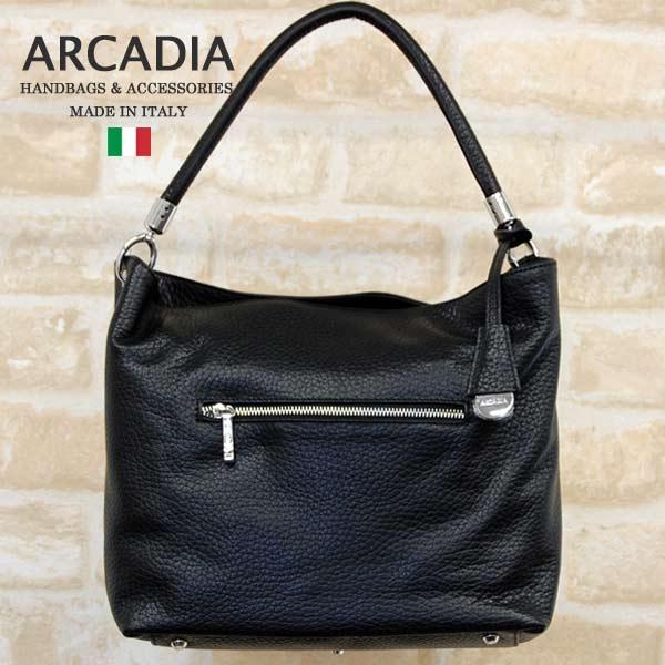 SALE 新色 テレビで話題 イタリア製バッグARCADIAアルカディアarcadia-6758-blackブラック36000