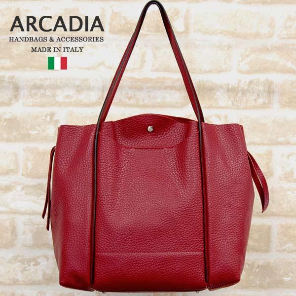 イタリア製バッグARCADIAアルカディアarcadia-8605-redレッド39000