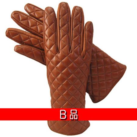 爆買い新作 B 上等 品 B品キルティングレザーグローブ DN-201106w-bDEMIデミレディース ウールライナー
