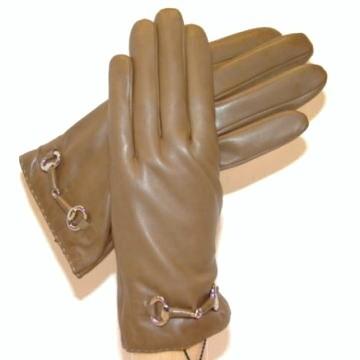 イタリア製グローブ 革巻きビット付きレザーグローブ P1010W<NEW モデル> BOERIO ボエリオ レディース革手袋