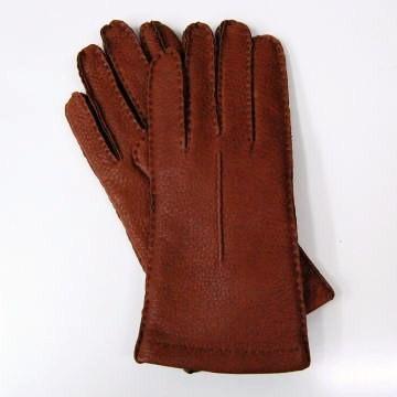 イタリア製グローブ レディース ワンラインチェルボ鹿革レザーグローブ BOERIO ボエリオ 革手袋