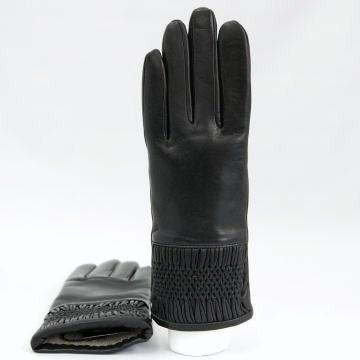 イタリア グローブ スモッキングレザーグローブ P1067W BOERIO ボエリオ レディース革手袋