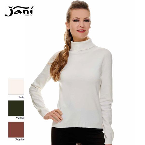 ※アウトレット品 タートルネック イタリア製ニットJANIJANI-JMW58レディース women 16000 店舗