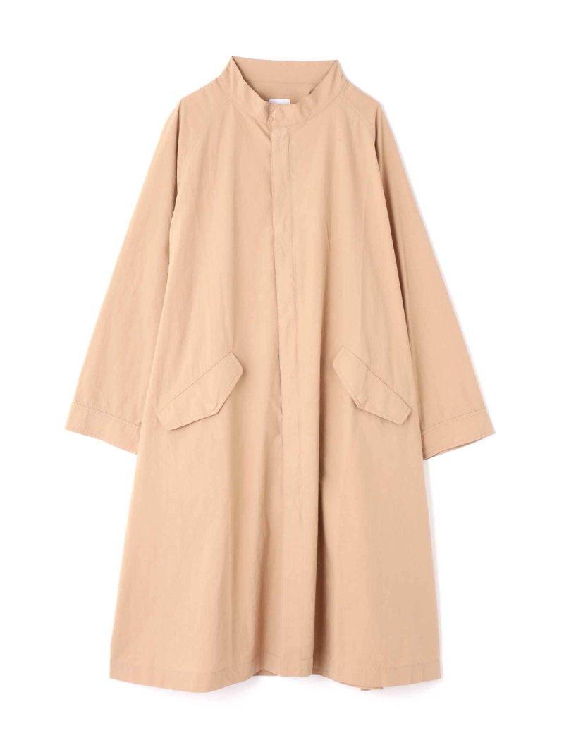 [Rakuten BRAND AVENUE]スタンドカラーAラインコート ROSE BUD ローズバッド コート/ジャケット【送料無料】