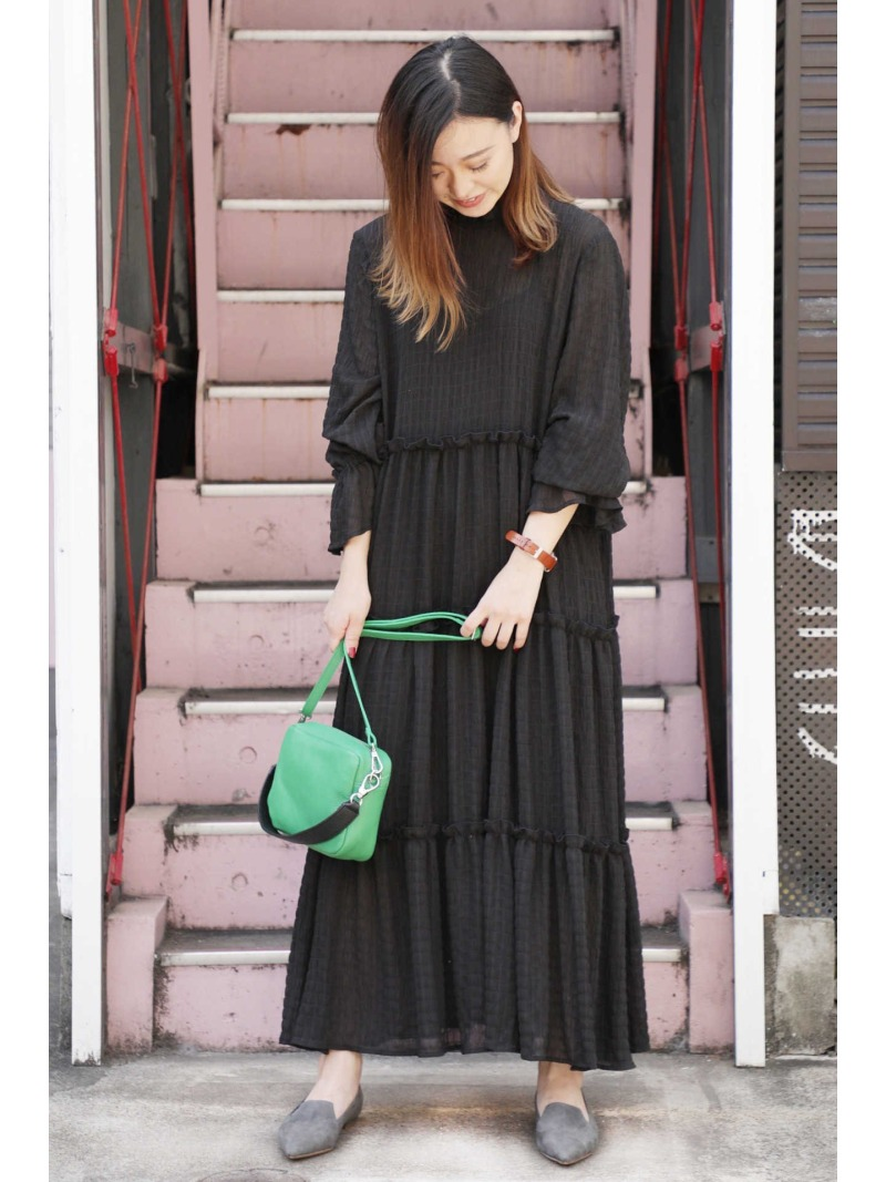 Rakuten FashionSALE 40 OFF バイカラーレザーショルダーバッグ ROSE BUD ローズバッド バッグ ショルダーバッグ グリーン ブラック グレー RBA E送料無料EHYWD2I9