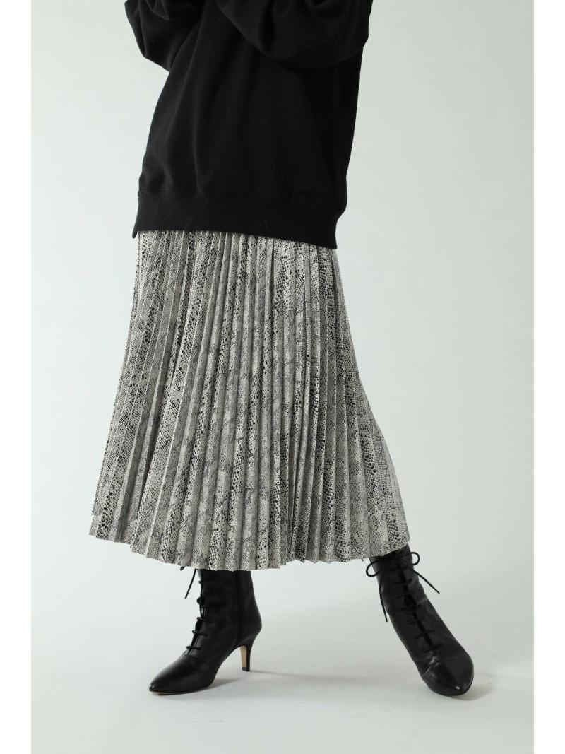 ROSE BUD レディース スカート ローズバッド  [Rakuten Fashion]ロング丈プリーツスカート ROSE BUD ローズバッド スカート スカートその他 グレー ブラウン シルバー【送料無料】