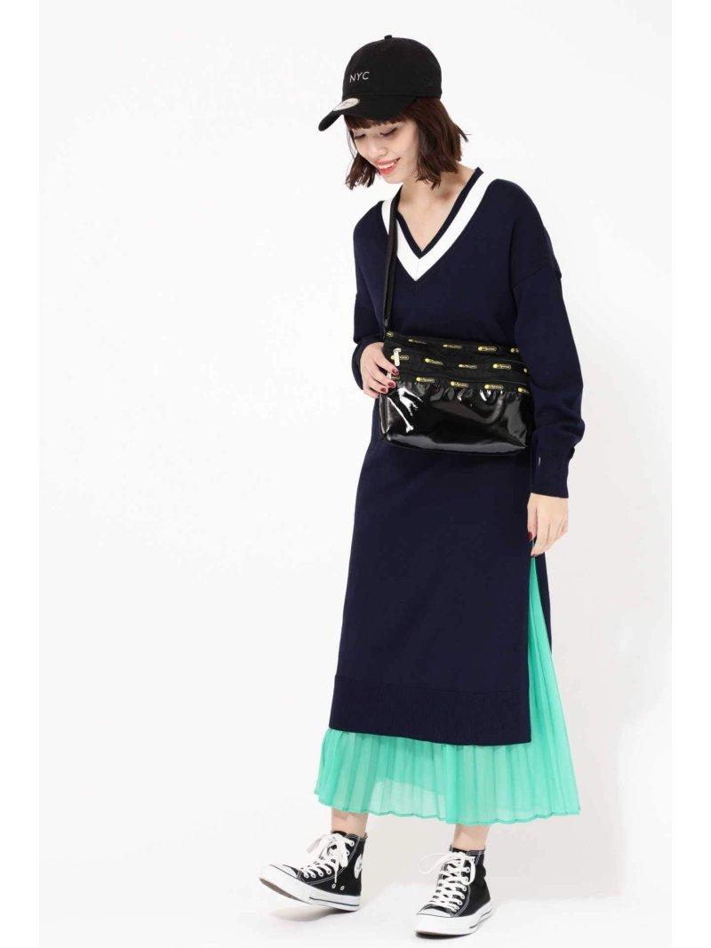 Rakuten FashionSALE 70 OFF スカートセットニットワンピース ROSE BUD ローズバッド ワンピース ワンピースその他 ネイビー ベージュ RBA E送料無料MGpSUzVq
