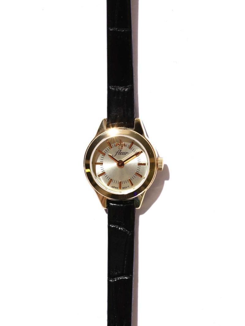 [Rakuten BRAND AVENUE]Fleur 腕時計 ROSE BUD ローズバッド ファッショングッズ【送料無料】