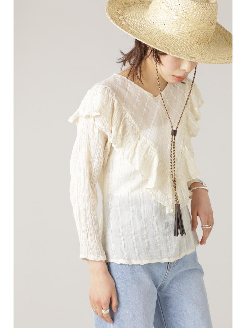 ROSE BUD レディース シャツ ブラウス ローズバッド ホワイト フリルブラウス 人気急上昇 Rakuten Fashion 誕生日/お祝い ブラウスその他 送料無料