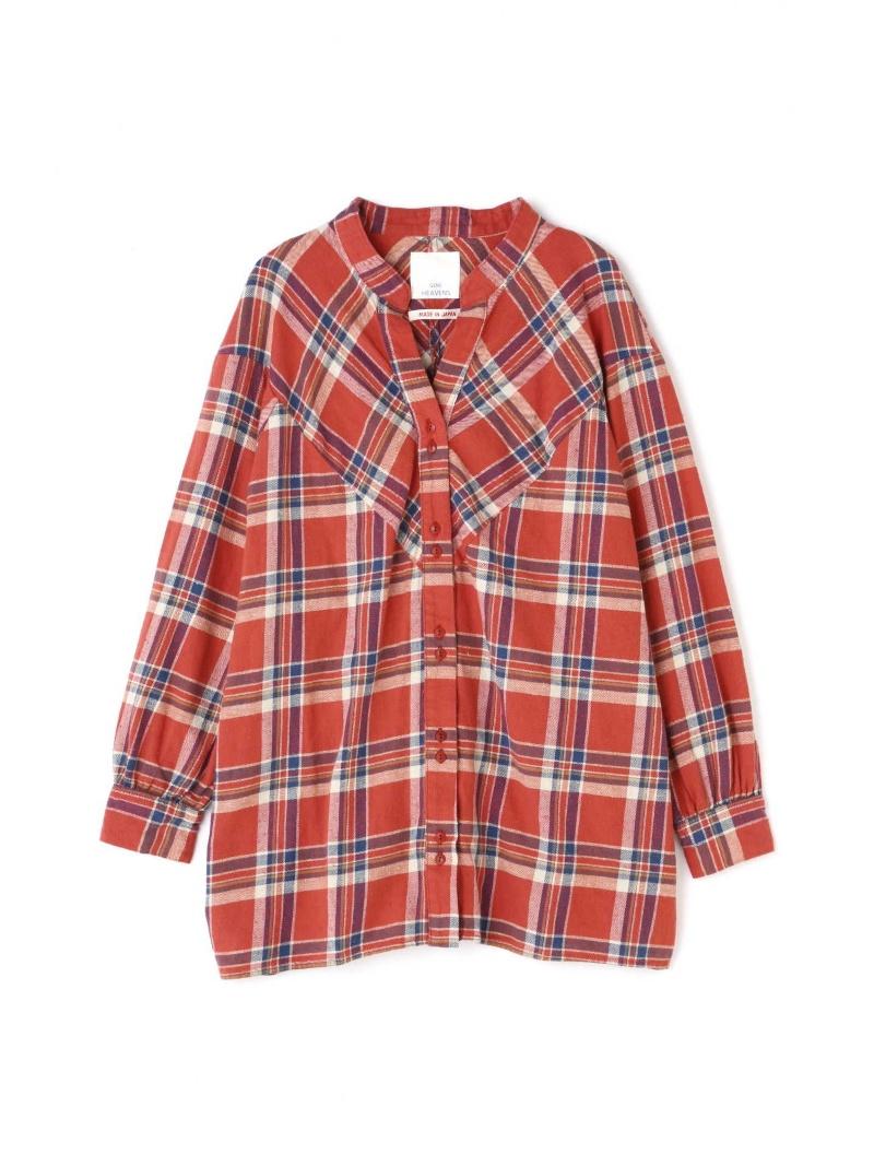 [Rakuten BRAND AVENUE]【SALE/30%OFF】カラーレスチェックネルシャツ ROSE BUD ローズバッド シャツ/ブラウス【RBA_S】【RBA_E】【送料無料】