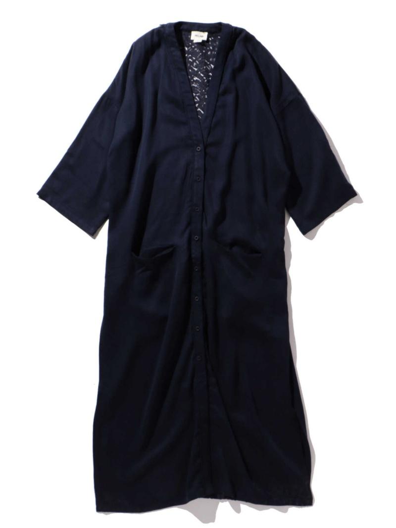 新品同様 [Rakuten BRAND AVENUE]【SALE/40%OFF】バックレースガウンシャツ ROSE BUD ローズバッド ワンピース【RBA_S】【RBA_E】【送料無料】, 激安商品 b2270bff