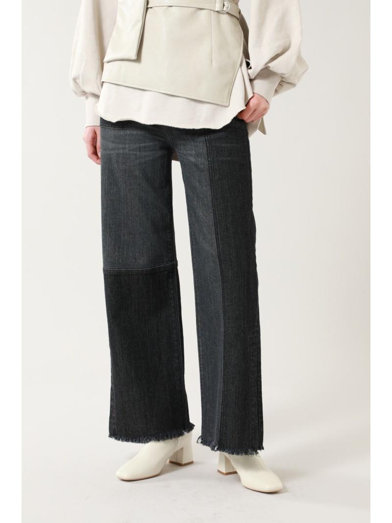 ROSE BUD レディース パンツ ジーンズ ローズバッド Rakuten セール特別価格 新作からSALEアイテム等お得な商品満載 Fashion 送料無料 パンツその他 カラーブロックデニムパンツ ブラック ブルー