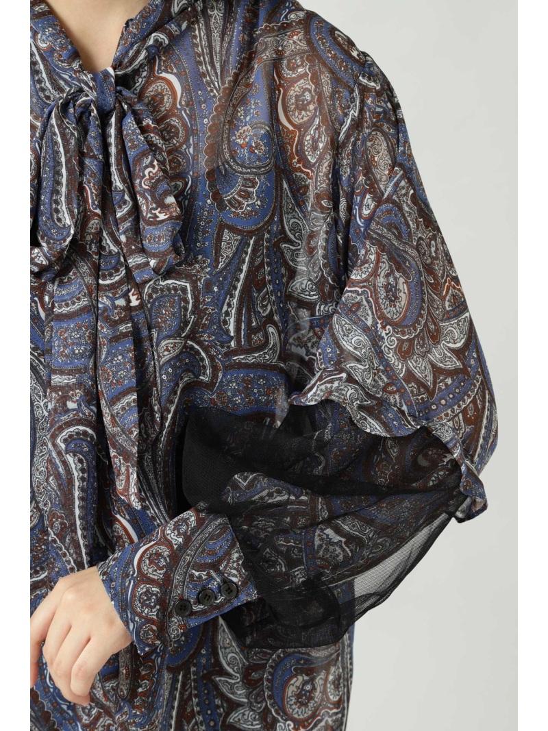 Rakuten FashionSALE 60 OFF リボンタイブラウス ROSE BUD ローズバッド シャツ ブラウス シャツ ブラウスその他 ブルー ベージュ RBA E送料無料4AjL35Rq