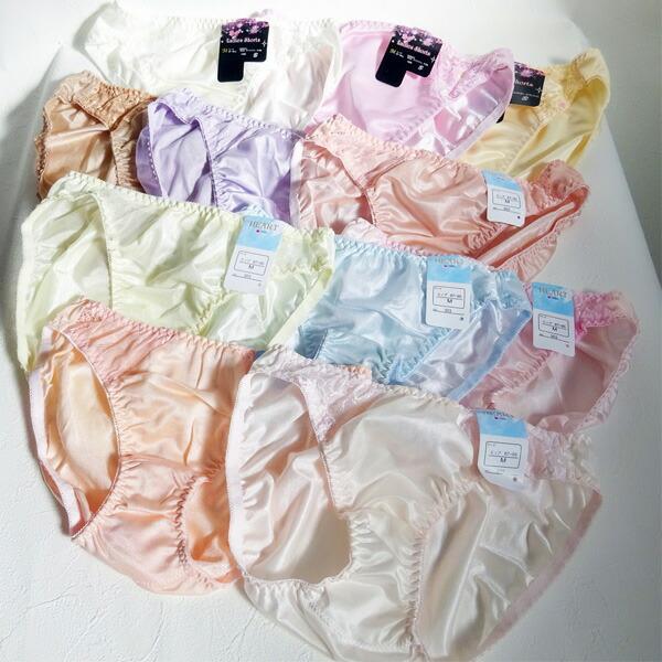 【福袋】ショーツ 100枚 セット 下着 パンツ M L 大きいサイズ レース 福袋 サテン インナー 普段使い 大容量 レディース メンズ