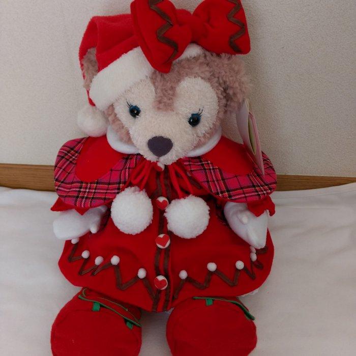 ダッフィー シェリーメイ ぬいぐるみ 43cm用クリスマスウイッシュミニー風スペシャルコスチューム