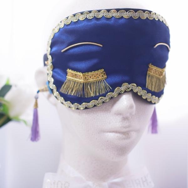 ダークネイビーはとっても大人上品なスタイル 送料無料 バースデー 記念日 ギフト 贈物 お勧め 通販 ダークネイビー アイマスク シルク スリープアイ ゴールド 彼女 かわいい 高級な 可愛い プレゼント 誕生日 ギフト おしゃれアイマスク