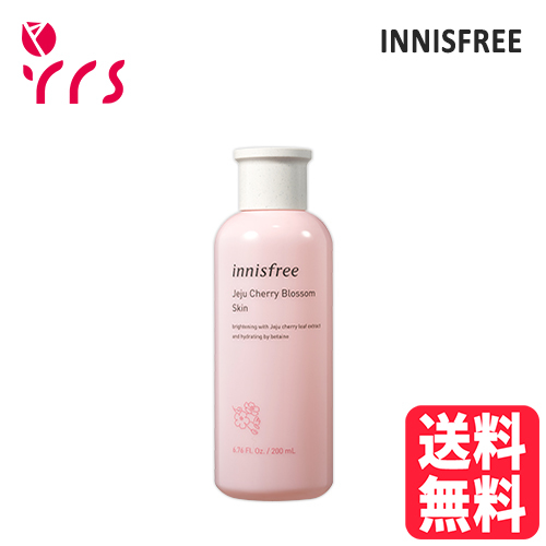 #チェリーブロッサムシリーズ #化粧水 INNISFREE 新着 イニスフリー Jeju Cherry 数量は多 Blossom Skin 200ml - チェジュチェリーブロッサムスキン