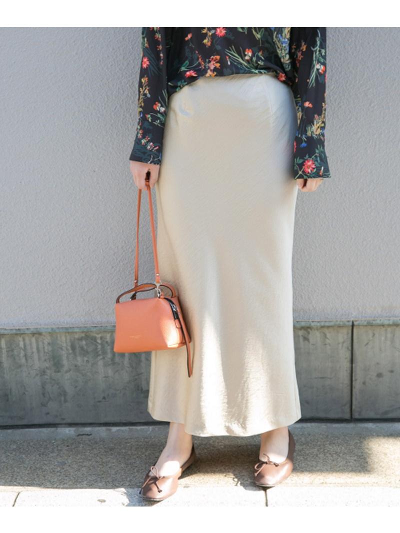 [Rakuten BRAND AVENUE]マーメイドサテンスカート ROSSO アーバンリサーチロッソ スカート【先行予約】*【送料無料】