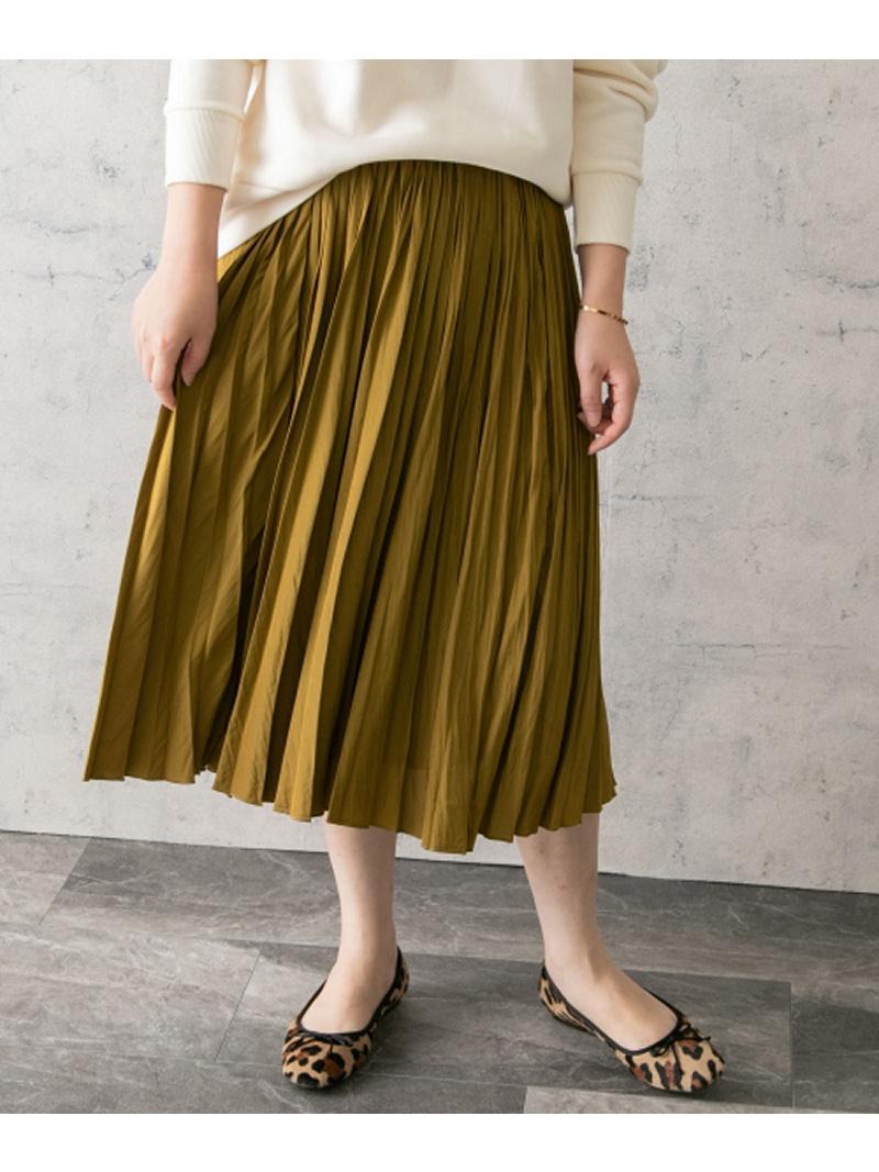 [Rakuten Fashion]【SALE/30%OFF】ヴィンテージサテンプリーツスカート ROSSO アーバンリサーチロッソ スカート スカートその他 イエロー ブルー ブラウン【RBA_E】【送料無料】