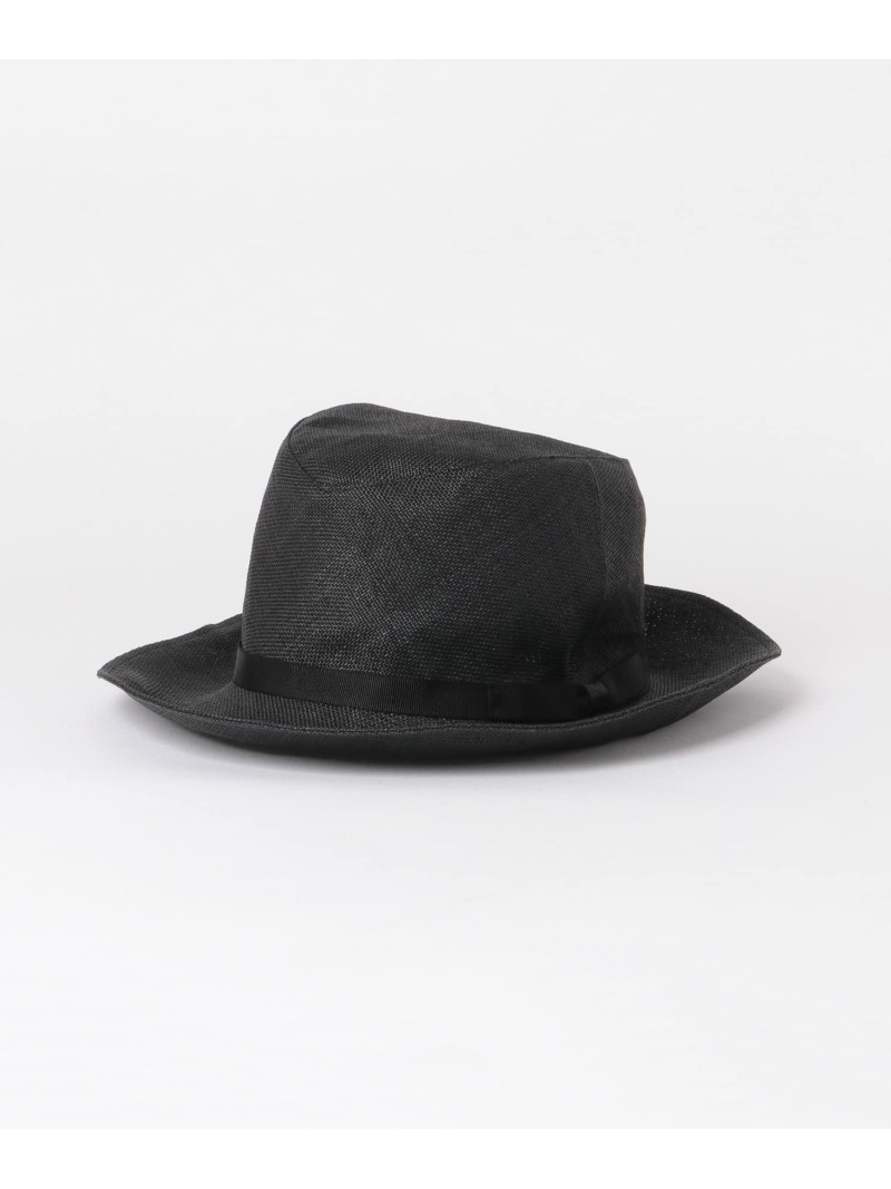 [Rakuten Fashion]KIJIMATAKAYUKIHAT ROSSO アーバンリサーチロッソ 帽子/ヘア小物 ハット ブラック ベージュ【送料無料】