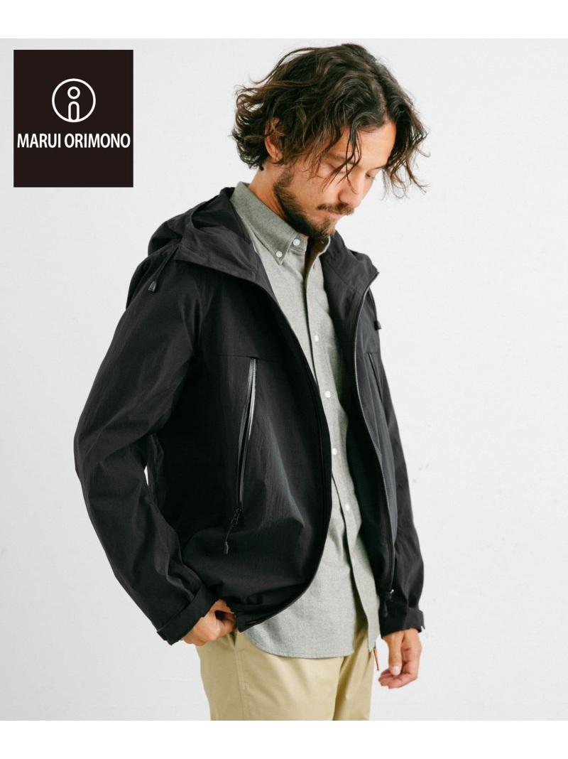 [Rakuten Fashion]丸井織物フードブルゾン ROSSO アーバンリサーチロッソ コート/ジャケット ブルゾン ブラック グレー【送料無料】