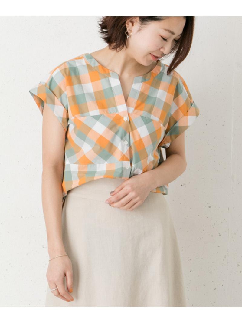 [Rakuten BRAND AVENUE]カラーブロックチェックシャツ ROSSO アーバンリサーチロッソ シャツ/ブラウス【送料無料】