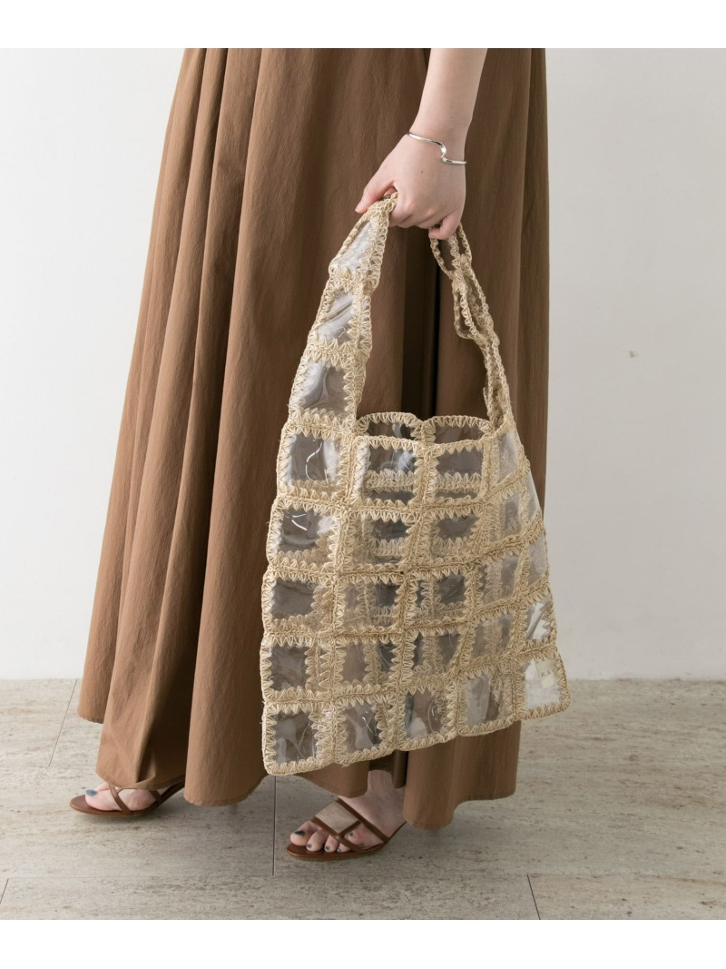 [Rakuten Fashion]JAMIRAYPATCHWORKBAG ROSSO アーバンリサーチロッソ バッグ トートバッグ ホワイト【送料無料】