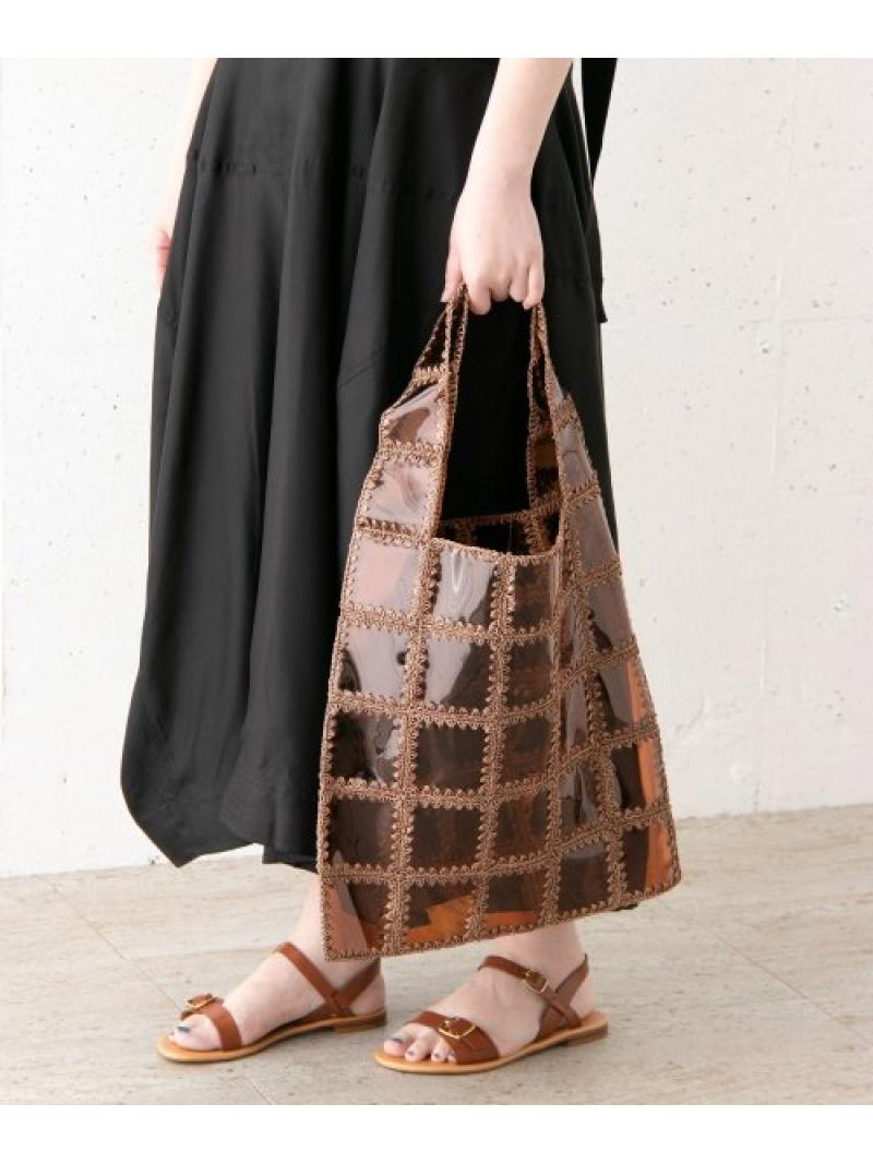 [Rakuten Fashion]JAMIRAYPATCHWORKBAG ROSSO アーバンリサーチロッソ バッグ トートバッグ ブラウン【送料無料】