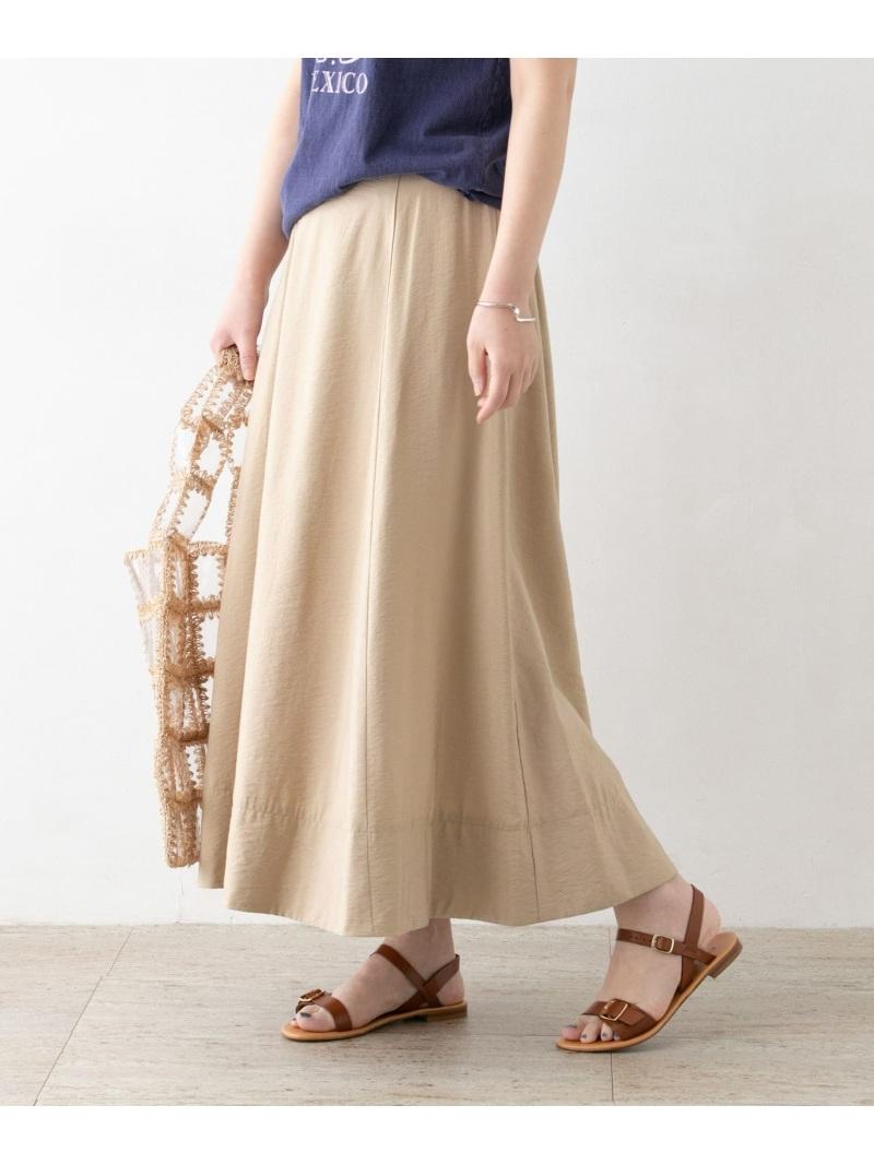 [Rakuten Fashion]サテンフレアスカート ROSSO アーバンリサーチロッソ スカート スカートその他 ベージュ ピンク【送料無料】