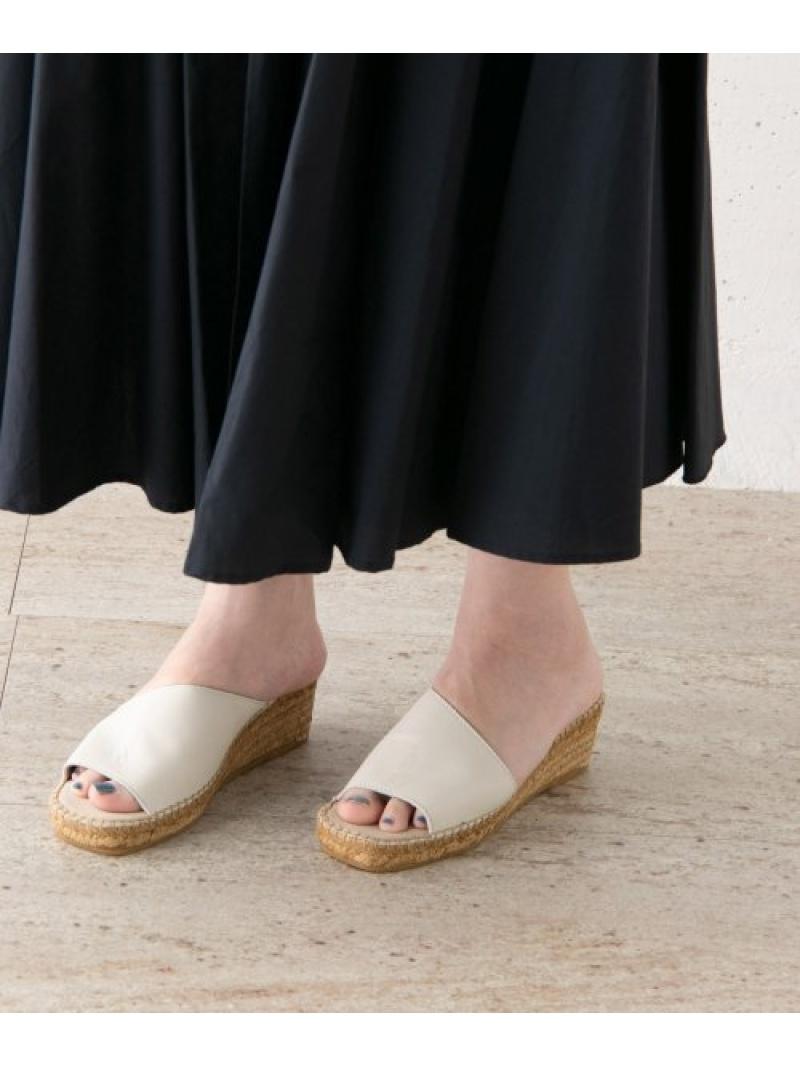 [Rakuten Fashion]CALZANORエスパドリーユ ROSSO アーバンリサーチロッソ シューズ サンダル/ミュール ホワイト【送料無料】