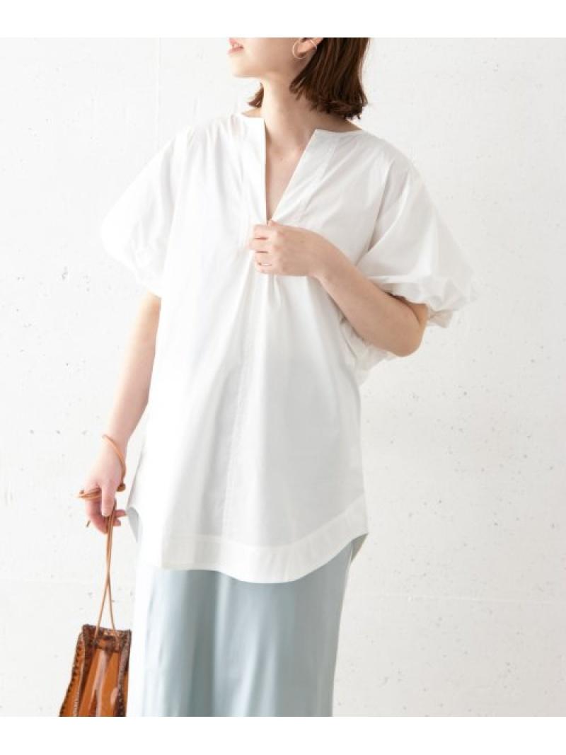 [Rakuten Fashion]LEEMATHEWSAlicePuffSleeveTop ROSSO アーバンリサーチロッソ シャツ/ブラウス シャツ/ブラウスその他 ホワイト【送料無料】