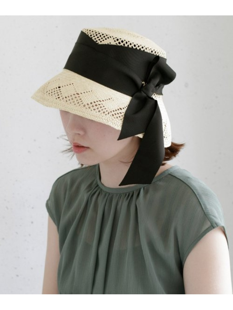 [Rakuten Fashion]SENSISTUDIOLAMPSHADECALADOHAT ROSSO アーバンリサーチロッソ 帽子/ヘア小物 ハット ホワイト【送料無料】