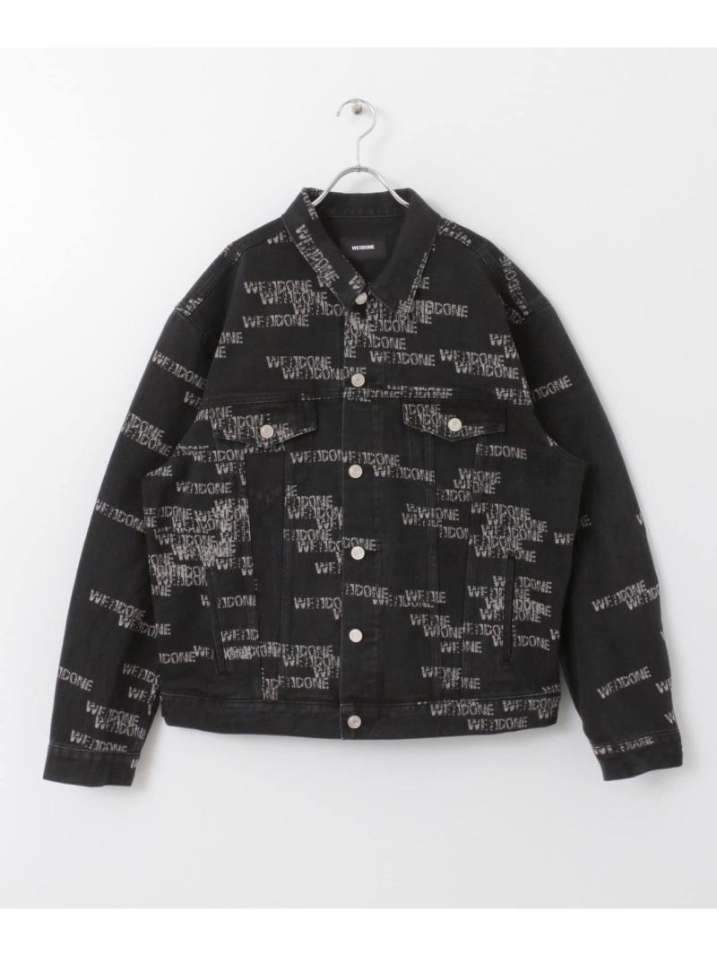 [Rakuten Fashion]【SALE/40%OFF】WE11DONESTAMPJACKET ROSSO アーバンリサーチロッソ コート/ジャケット デニムジャケット ブラック【RBA_E】【送料無料】