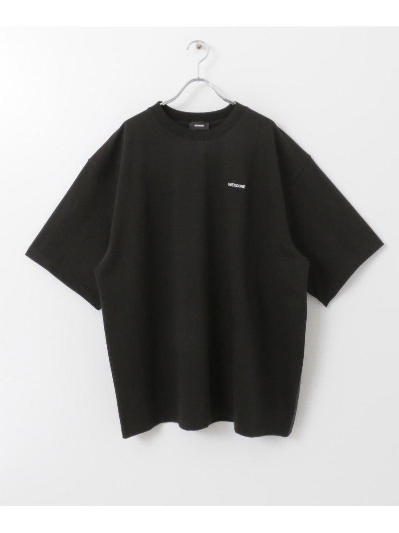 [Rakuten Fashion]WE11DONEHIGHNECKT-SHIRTS ROSSO アーバンリサーチロッソ カットソー Tシャツ ブラック ホワイト【送料無料】