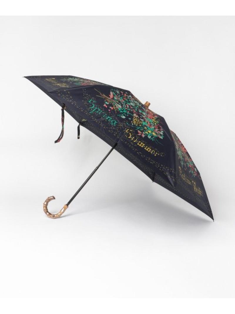 [Rakuten Fashion]manipuriS.FLOWER折傘 ROSSO アーバンリサーチロッソ ファッショングッズ 長傘 ネイビー【送料無料】