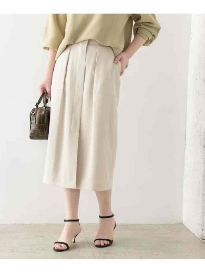 [Rakuten Fashion]フロントオープンタイトスカート ROSSO アーバンリサーチロッソ スカート スカートその他 ホワイト ベージュ ブルー【送料無料】