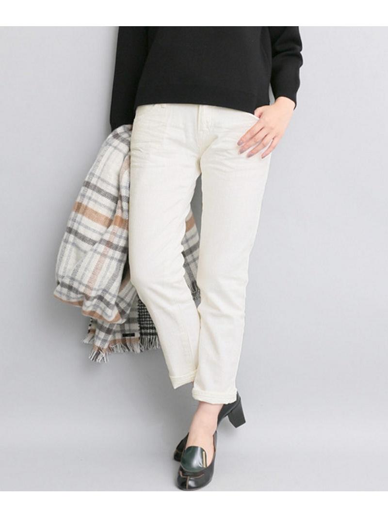 [Rakuten BRAND AVENUE]Munich white denim slouch pants ROSSO アーバンリサーチロッソ パンツ/ジーンズ【送料無料】