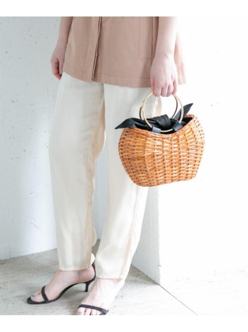 [Rakuten Fashion]VIOLAd'OROゴールドリングラタンバッグ ROSSO アーバンリサーチロッソ バッグ かごバッグ ブラウン【送料無料】
