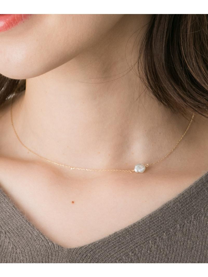 [Rakuten BRAND AVENUE]Favorible akoya pearl necklace ROSSO アーバンリサーチロッソ アクセサリー【送料無料】