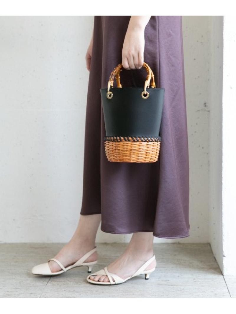[Rakuten Fashion]VIOLAd'OROラタンレザーコンビバッグ ROSSO アーバンリサーチロッソ バッグ ハンドバッグ【送料無料】