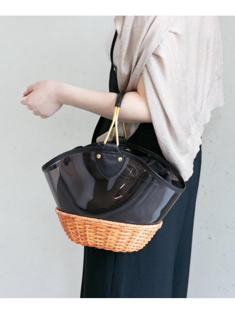 [Rakuten Fashion]VIOLAd'OROラタンPVCコンビバッグ ROSSO アーバンリサーチロッソ バッグ ハンドバッグ【送料無料】