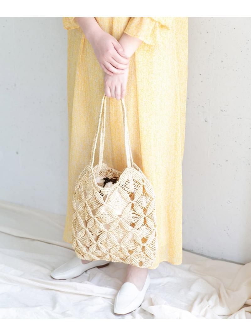 [Rakuten Fashion]VIOLAd'OROマクラメトート ROSSO アーバンリサーチロッソ バッグ トートバッグ ホワイト【送料無料】