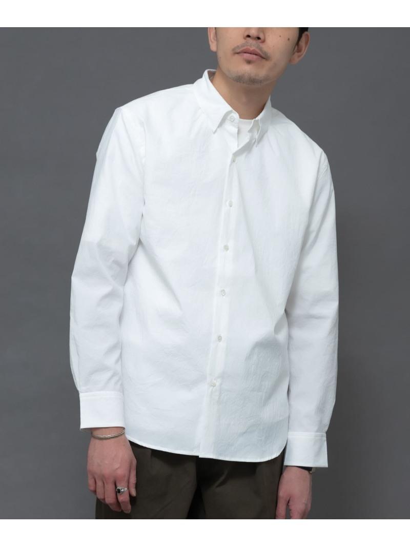 [Rakuten Fashion]丸井織物レギュラーシャツ ROSSO アーバンリサーチロッソ シャツ/ブラウス シャツ/ブラウスその他 ホワイト ネイビー グレー【送料無料】