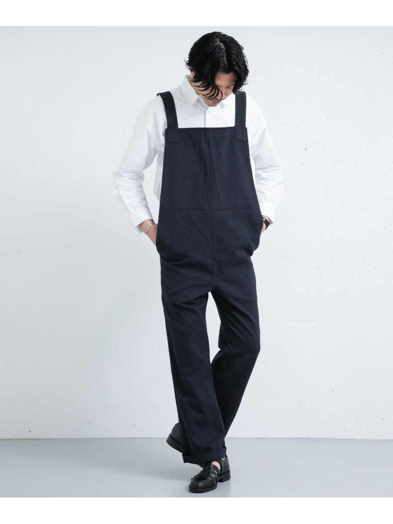 [ Fashion]【SALE/30%OFF】FrankLederARCHIV15 ROSSO アーバンリサーチロッソ パンツ/ジーンズ サロペット/オールインワン ネイビー【RBA_E】【送料無料】