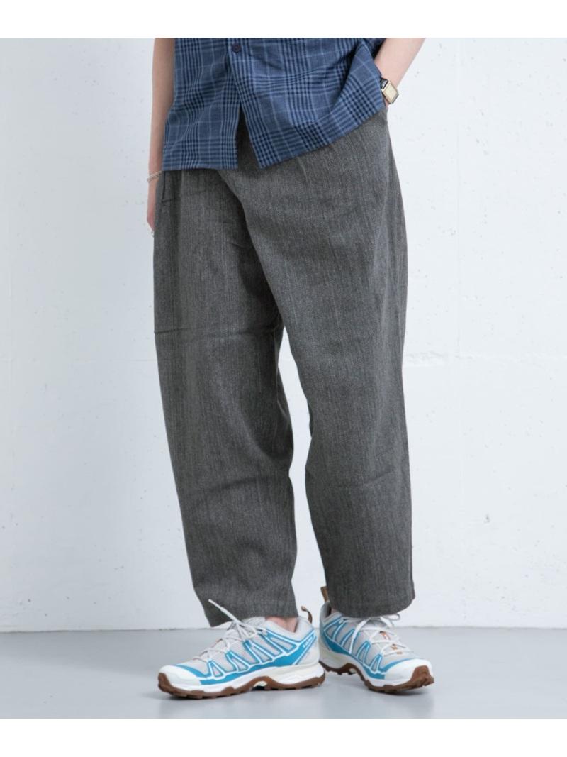 [Rakuten Fashion]FrankLederM003/03 ROSSO アーバンリサーチロッソ パンツ/ジーンズ パンツその他 グレー【送料無料】